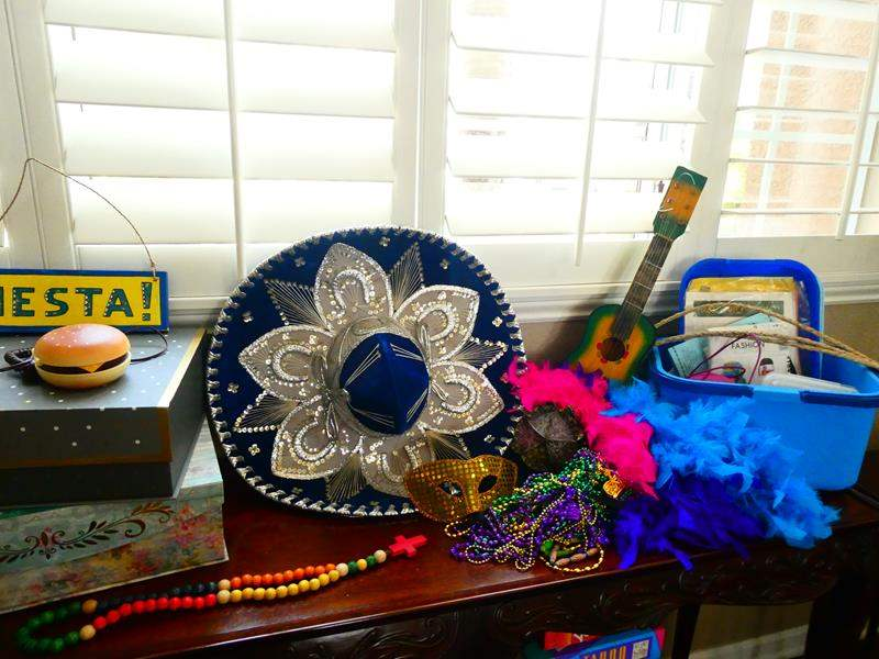 Lot # 31-It's Party Time! Sombrero made in Mexico! (main image)