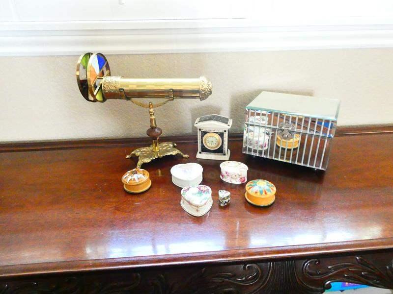 Lot # 48- Super Fun Kaleidoscope, Lenox Clock, and More! (main image)
