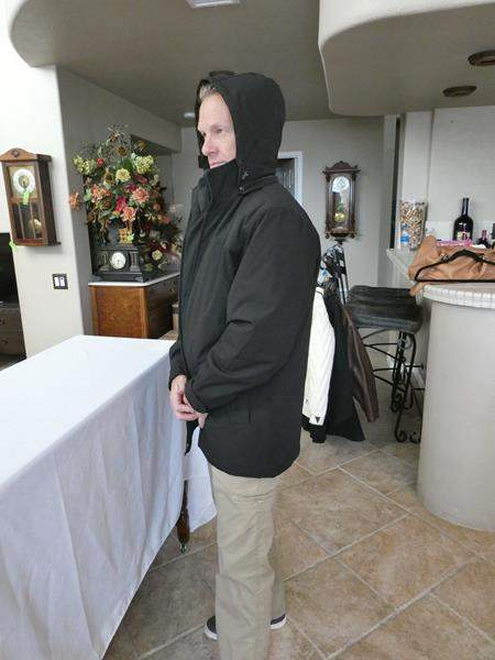 Lot # 159- Men's Weatherproof coat (main image)