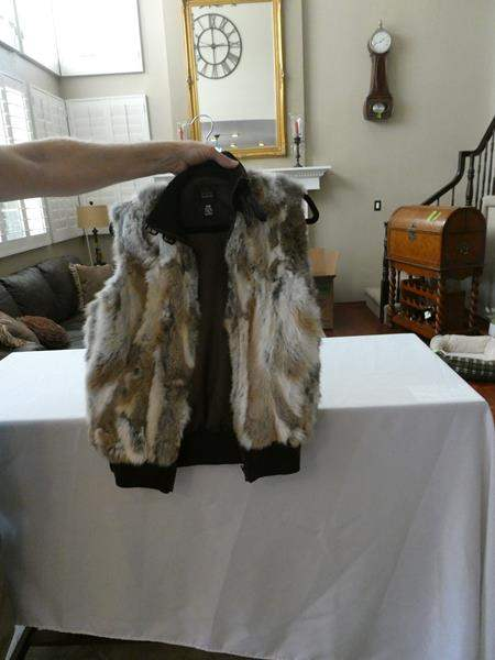 Lot # 162- Saks Fifth Avenue women's vest (main image)
