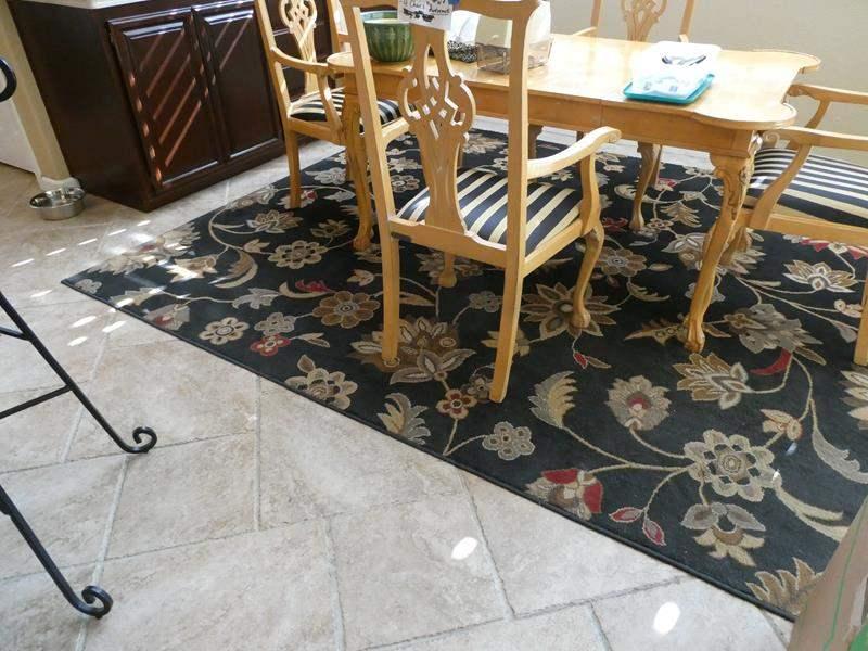 Lot # 166- Large kitchen rug (main image)