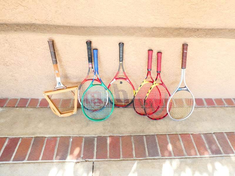 Lot # 53- Tennis Rackets! (main image)