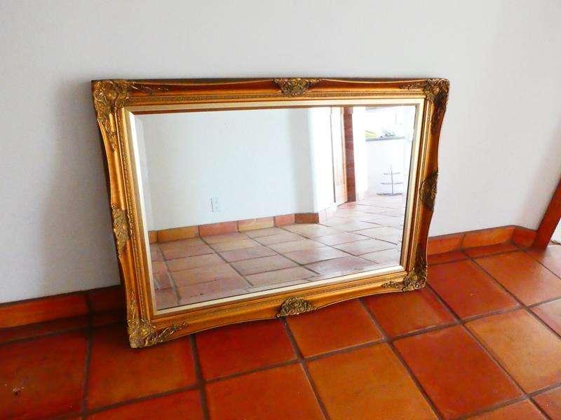 Lot # 48-Classic Gold Mirror (main image)