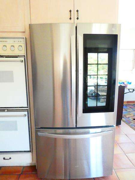 Lot # 52-LG Refrigerator Stainless Steel French Door with InstaView  (main image)