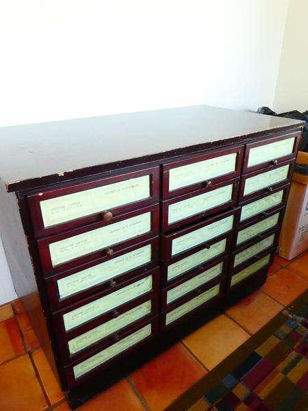 Lot # 53-Sheet Music Cabinet!  (main image)