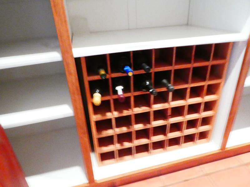 Lot # 59-Wine Rack! Contents included (main image)
