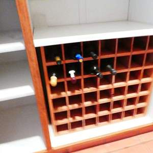 Auction Thumbnail for: Lot # 59-Wine Rack! Contents included