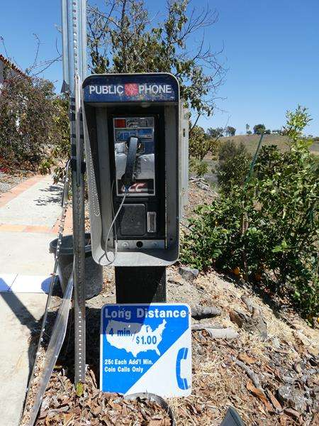 Lot # 102- Cool payphone! (main image)
