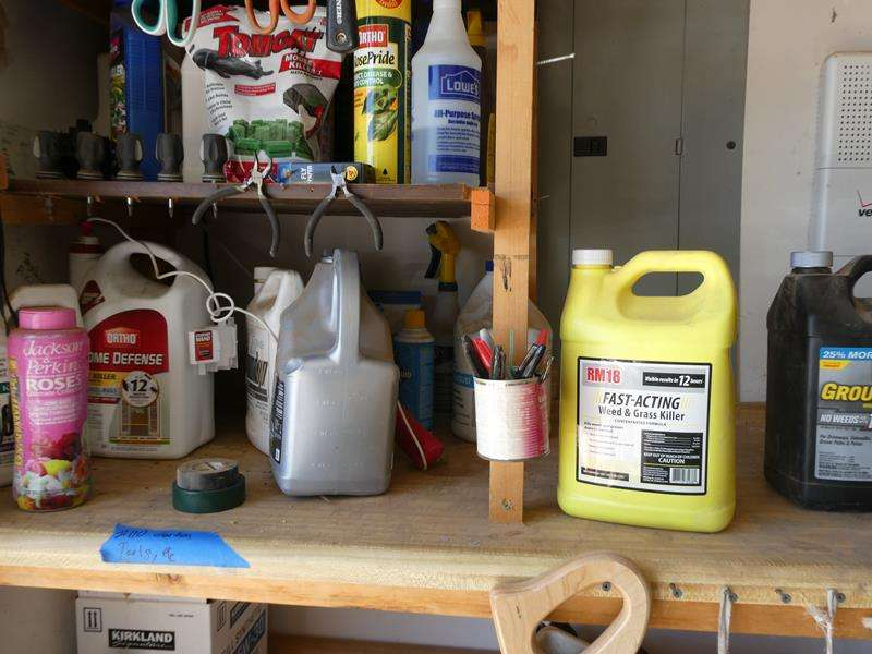 Lot # 110- Garden tools, chemicals and more! (main image)