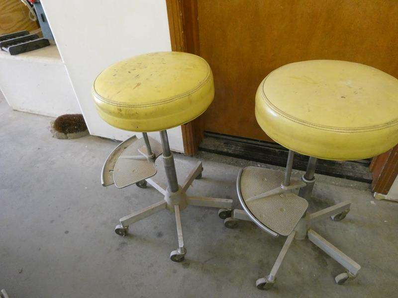 Lot # 120- Cool shop chairs -two! (main image)