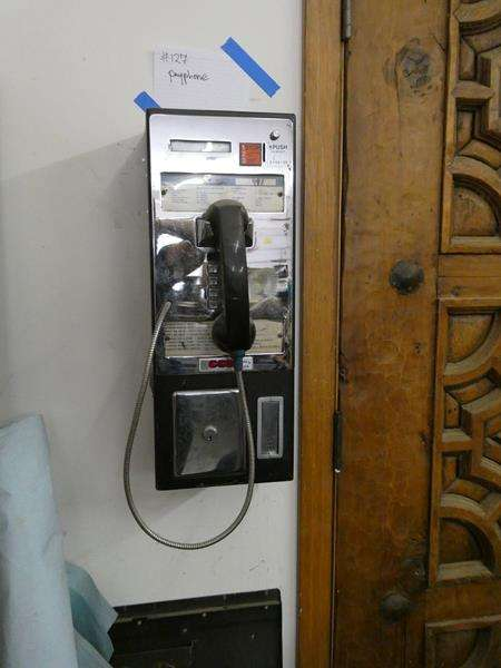 Lot # 127- Cool payphone for your home! (main image)