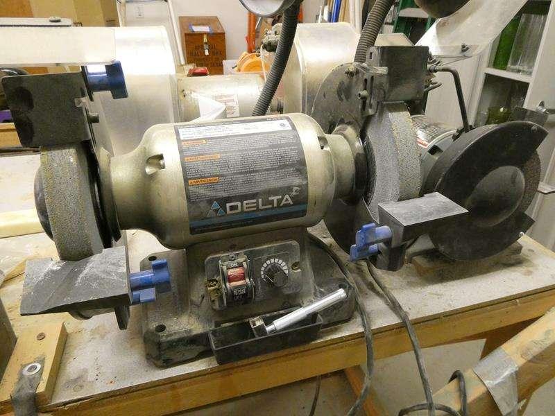 """Lot # 149- Delta 8"""" wheel bench grinder (main image)"""