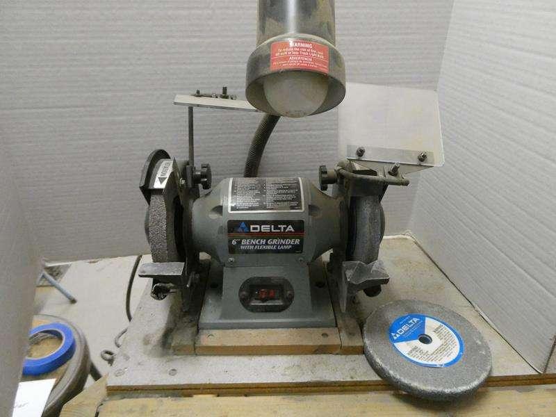 """Lot # 150- Delta 6"""" bench grinder (main image)"""