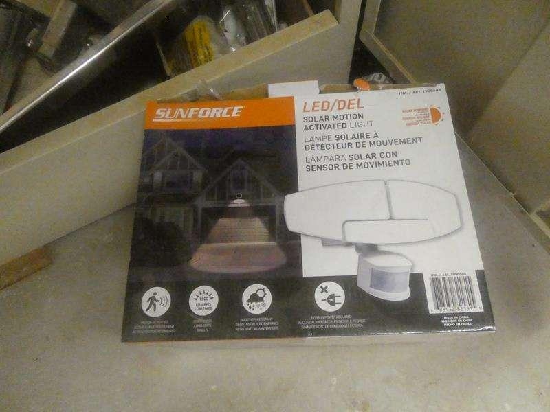 Lot # 158- Solar and lighting equipment (main image)