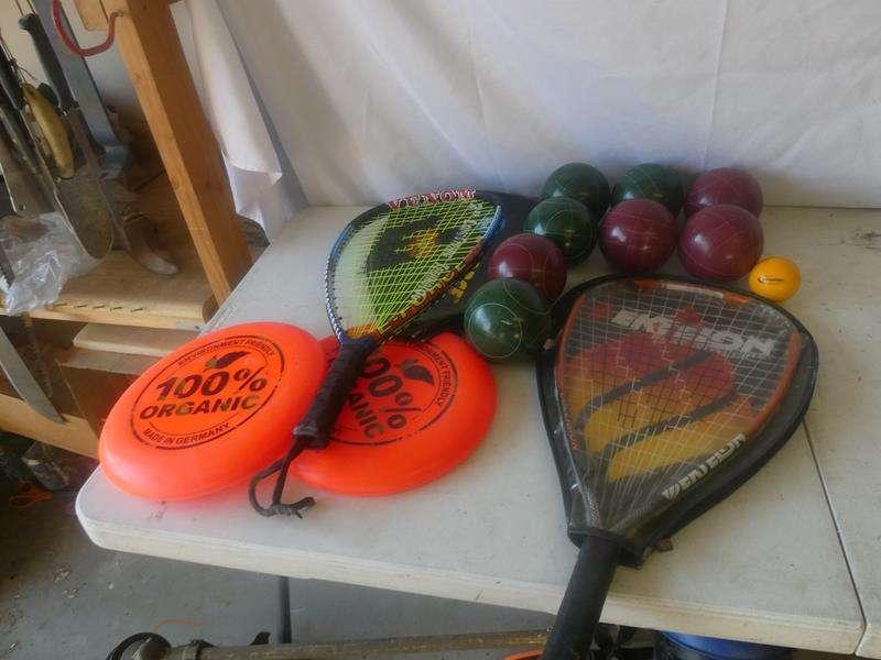 Lot # 159- Park day! Fun sports equipment  (main image)