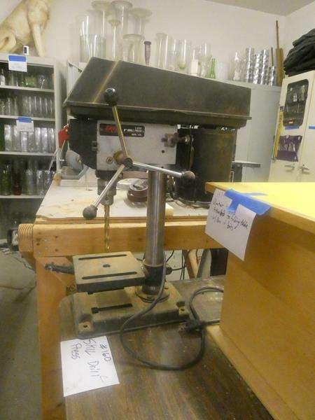 """Lot # 160- 8"""" SKIL drill press (main image)"""