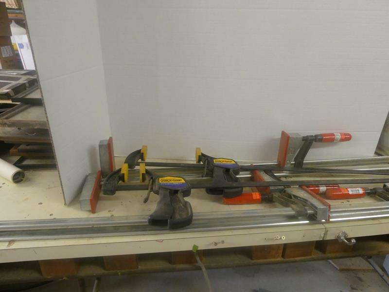 Lot # 161- Long clamps- Six total! (main image)