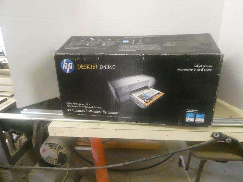 Lot # 163- Unused HP Deskjet printer! (main image)