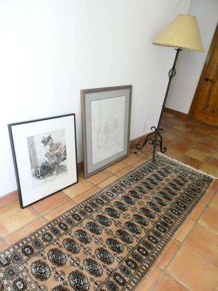 Lot # 22- Cowboy Dream! Beautiful art and runner. Artist: Verburg (main image)