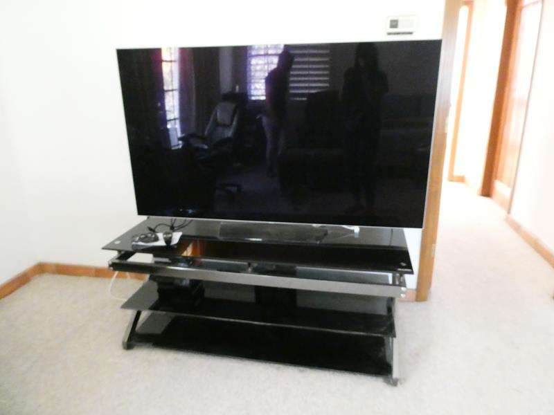 """Lot # 33-LG 65"""" LED TV 4K with box and TV Stand! (main image)"""