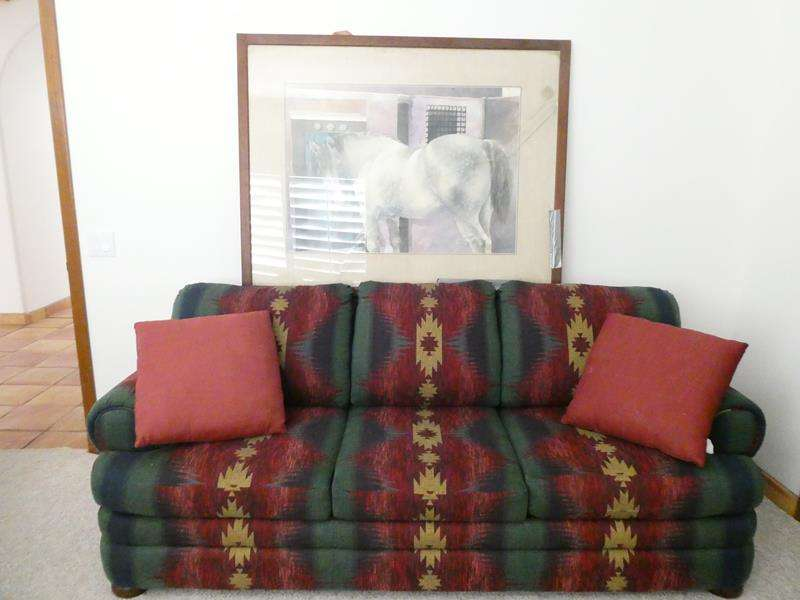 Lot # 44-Basset Sofa Sleeper in Excellent Condition, and More! (main image)