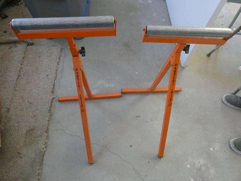 Lot # 206- Two HTC pedestal roller (main image)