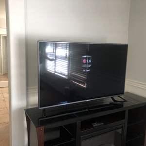 """Lot # 63-LG 56"""" Smart TV!"""
