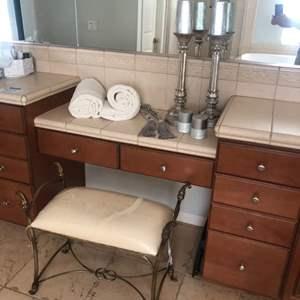 Lot # 65-Bathroom Glam!