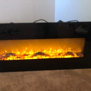 Lot # 67-Electric Fireplace!
