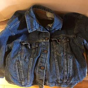 Lot # 78Levi Jean jacket- men's XL