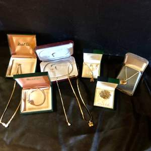Lot # 80-Beautiful gold jewelry- some 14k- see all pictures