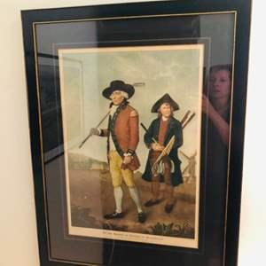 "Auction Thumbnail for: Lot # 13-  ""The Blackheath Golfer"" Society of Goffers at Blackheath"
