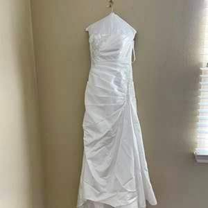Lot # 6-David's Bridal Wedding Dress, in Excellent Condition! -Size 10