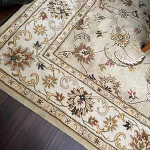 Lot # 12- Wool Area Rug Made in India!