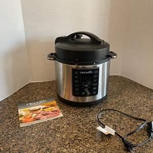 Lot # 20-CROCK-POT Pressure Cooker-NEW