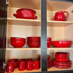 Lot # 24-41 pc dish set Mimi Na, made in Italy!