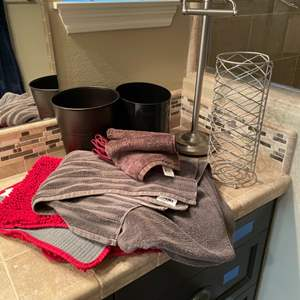 Lot # 45- Bathroom Items