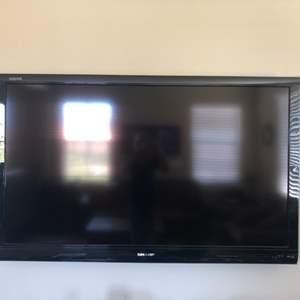 Lot # 80-Sharp TV 60 inch