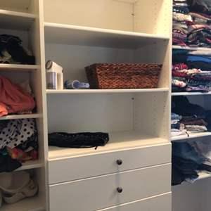 Lot # 115- Closet of  Women's clothing