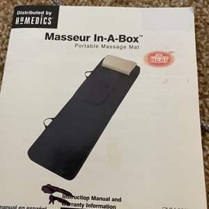 Lot # 122- Homedics Masseur in a box