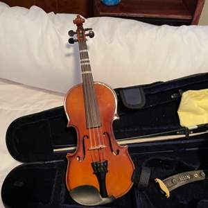 Lot # 135-Carlo Robelli  Violin with Case