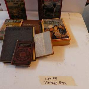 Auction Thumbnail for: Lot # 9- Amazing vintage book collection