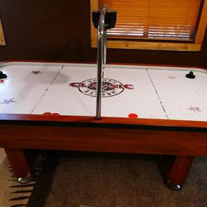 Auction Thumbnail for: Lot # 123- Air Hockey Table Full-Size