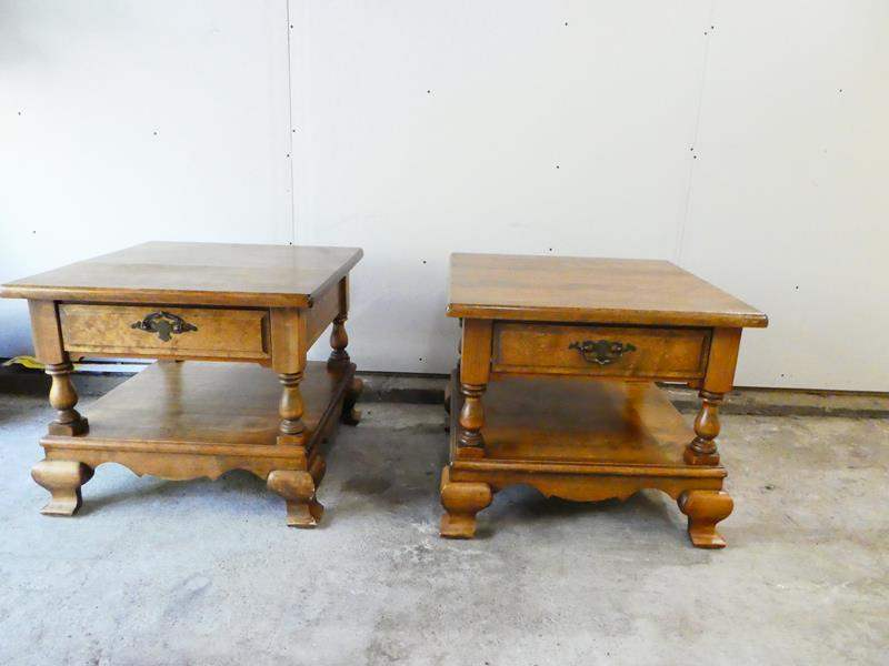 Lot # 5- Solid wood matching nightstands! (main image)