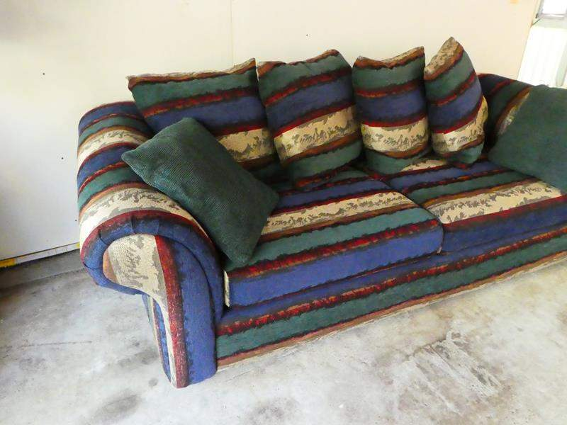 Lot # 14- Super cute and sturdy couch!  (main image)