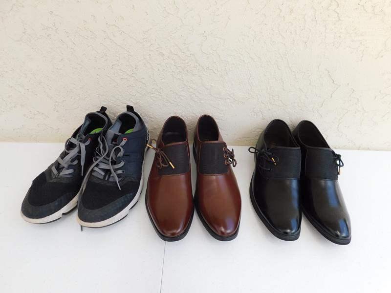 Lot # 89 Men's stylish shoes Size 10.5 (main image)