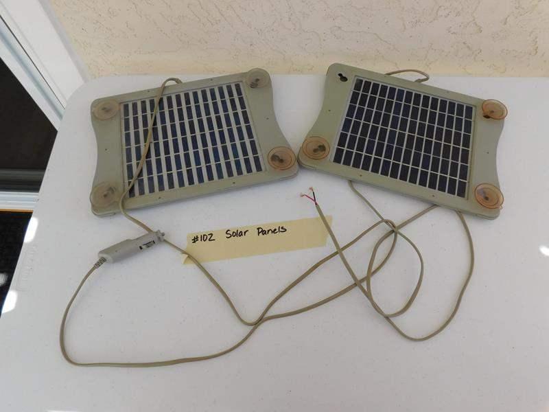 Lot # 102 Solar panels (main image)