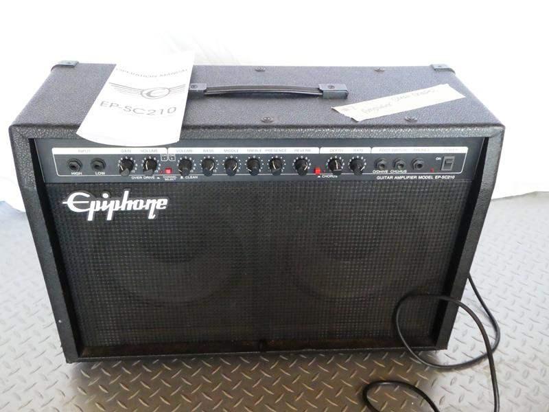 Lot # 7 Epiphone Guitar Amplifier- like new (main image)