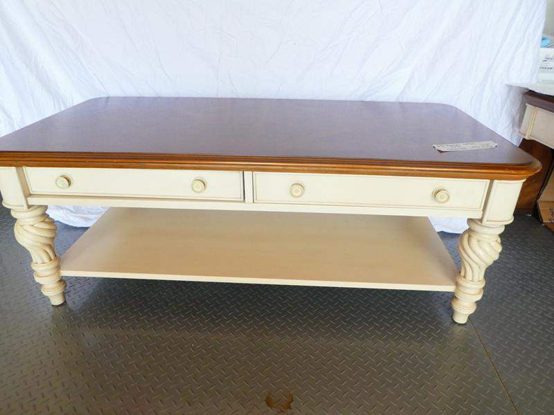 Lot # 8 Stylish Bassett coffee table!  In great condition (main image)