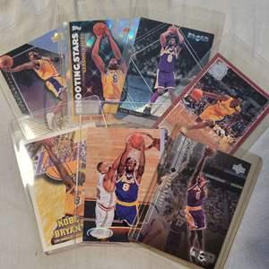 7 Kobe Bryant Cards